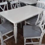Стол и стуля для 6 человек для кухни