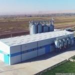 Завод по производству кормов в Таджикистане