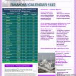 Расписание Рамадан в Астане 2021 г. (Нур Султан)