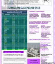 Расписание рамадан ураза в Астана казахсьтан 2021 год